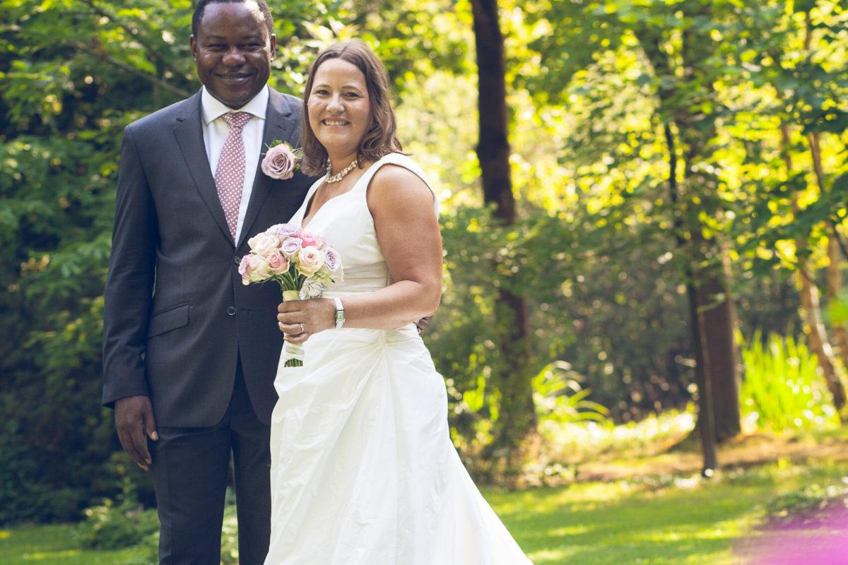 Huwelijksfoto in Keerbergen van Ann en Freddie