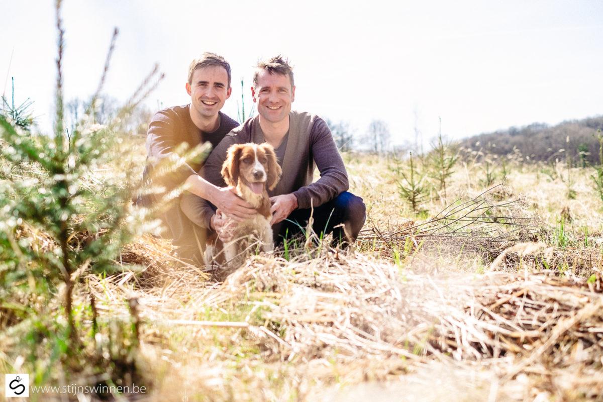 Pre-wedding fotoshoot met Bob en Wim