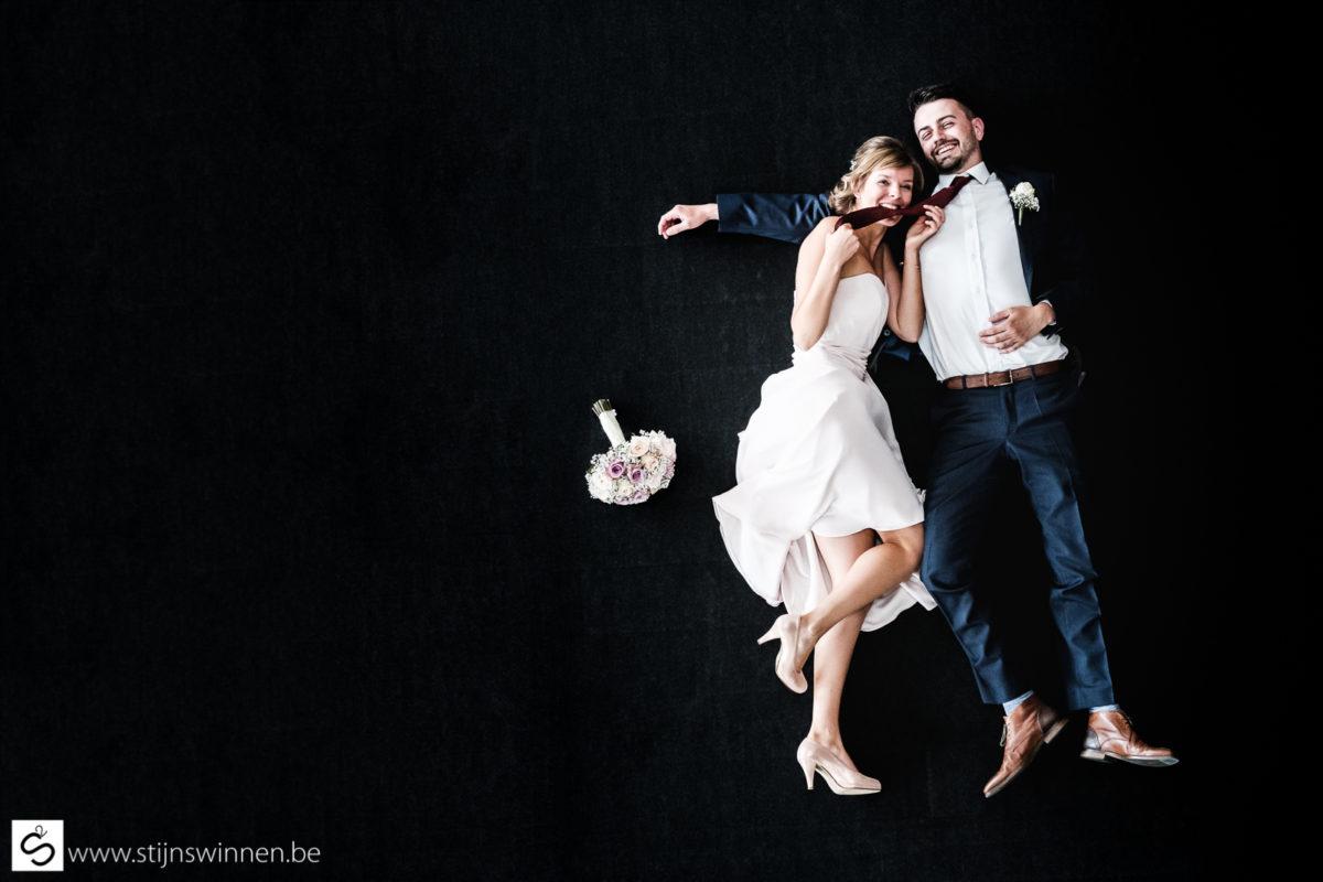 Huwelijk Els en Sander in Haacht
