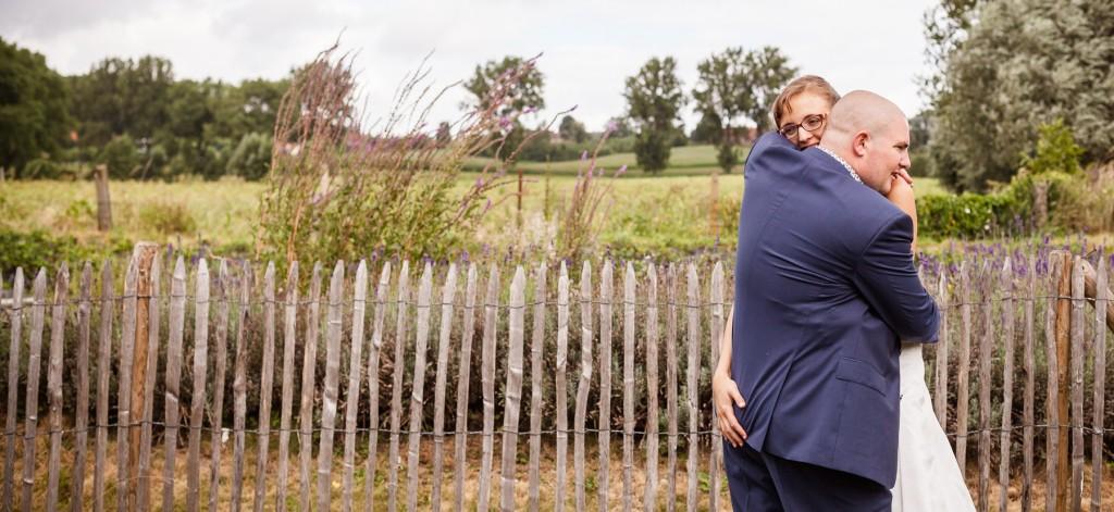 Huwelijksfotograaf in Ronse voor Jolien en Lukas