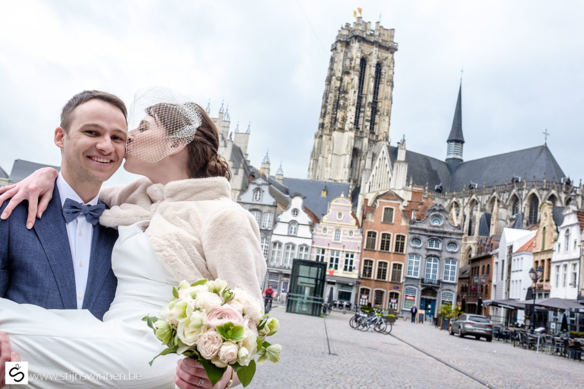 Veerle en Harald getrouwd in Mechelen