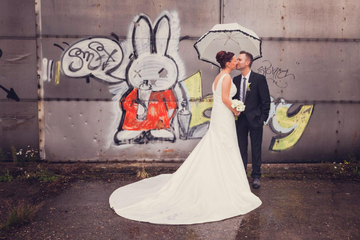 Huwelijksfotografie in Herentals voor Gitte en Jan
