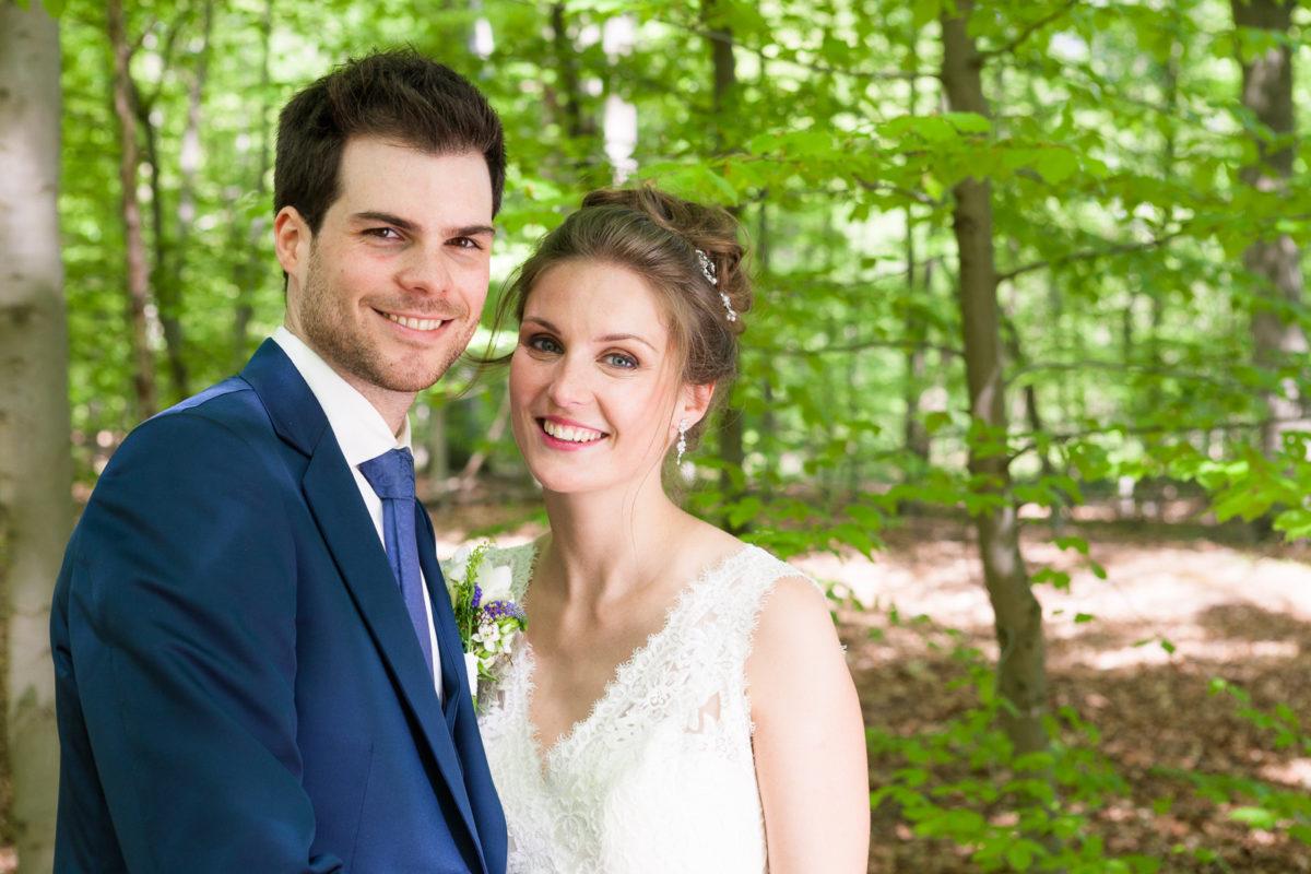 Huwelijk Karen en Wim in Vaalbeek