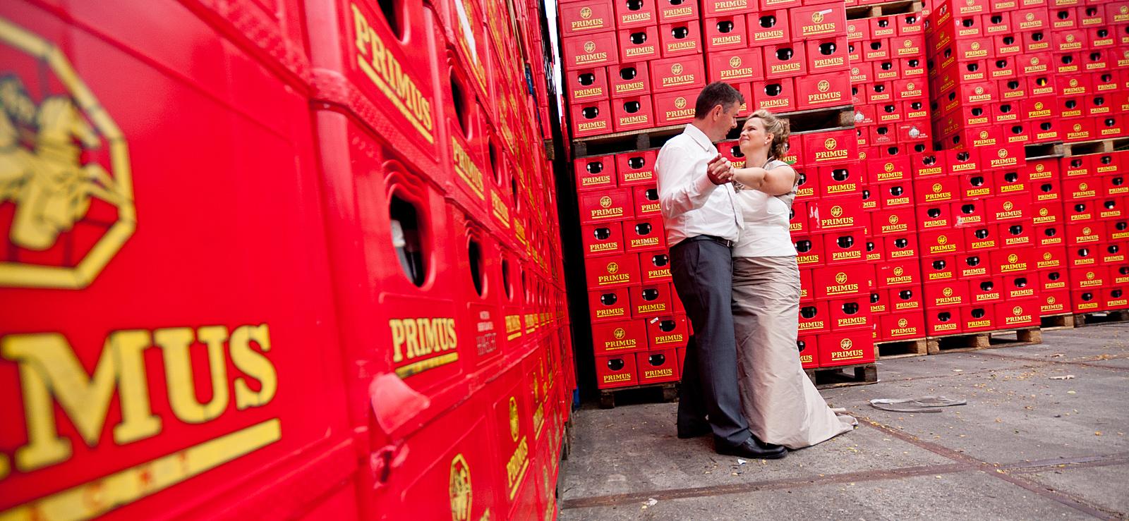 Huwelijk Cathy en Robin Brouwerij Haacht